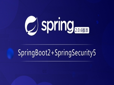 Spring Boot2+Spring Security5视频教程