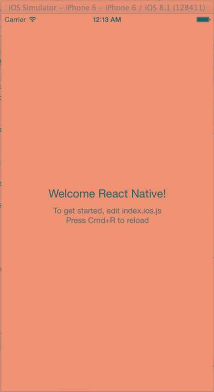 react-native的IOS移动开发体验